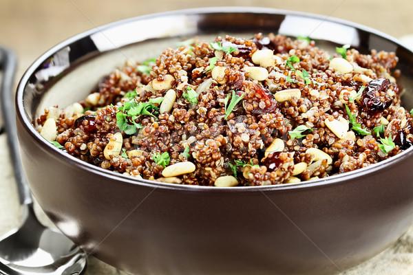 Delicious Quinoa Pilaf Stock photo © StephanieFrey