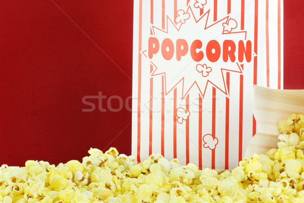 Popcorn Stock photo © StephanieFrey