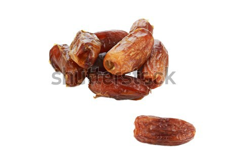 Pitted Dates Stock photo © StephanieFrey