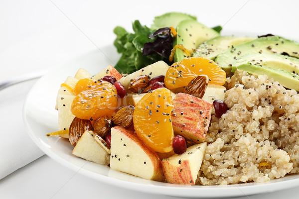 Quinoa and Apple Salad Stock photo © StephanieFrey