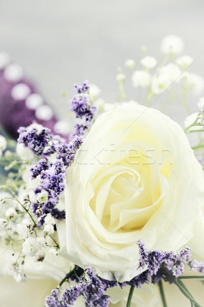 Brides Maids Bouquet Stock photo © StephanieFrey
