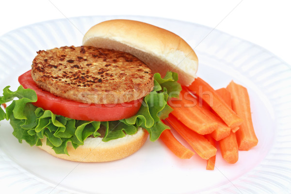 Vegan Burger Stock photo © StephanieFrey