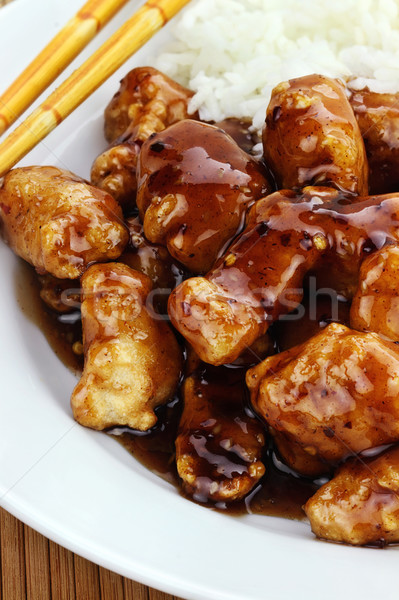 General Tso's Chicken Stock photo © StephanieFrey