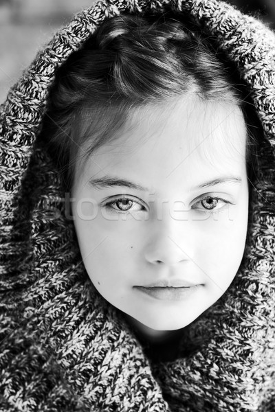 Girl in Sweater Stock photo © StephanieFrey