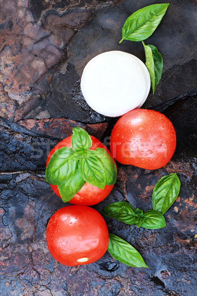 Caprese Salad Ingredients Stock photo © StephanieFrey