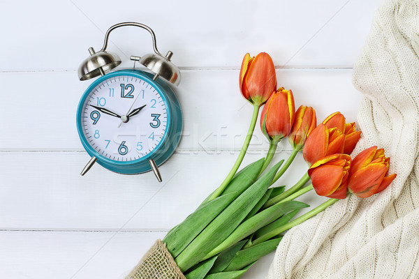 Spring Time Change Daylight Savings Stock photo © StephanieFrey