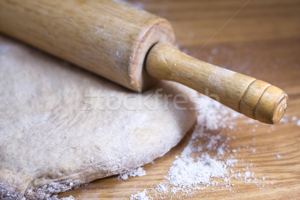 Rolling Pin and Dough Stock photo © StephanieFrey