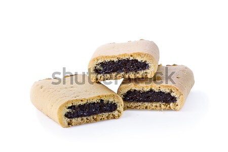 Three Fig Cookie Pastries Stock photo © StephanieFrey