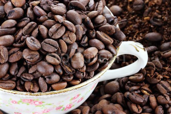 Coffee Beans Stock photo © StephanieFrey