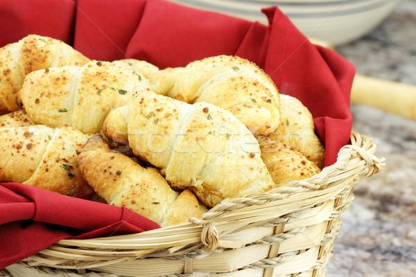 Croissant Stock photo © StephanieFrey