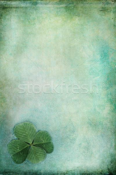 Foto stock: Dia · de · São · Patricio · cópia · espaço · papel · textura · fundo