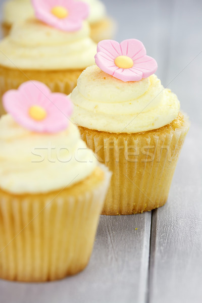 Cupcakes in a Row Stock photo © StephanieFrey