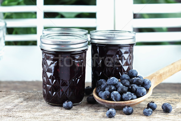 Blueberry Preserves Stock photo © StephanieFrey