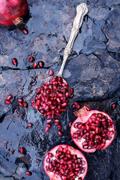 Pomegranates Stock photo © StephanieFrey