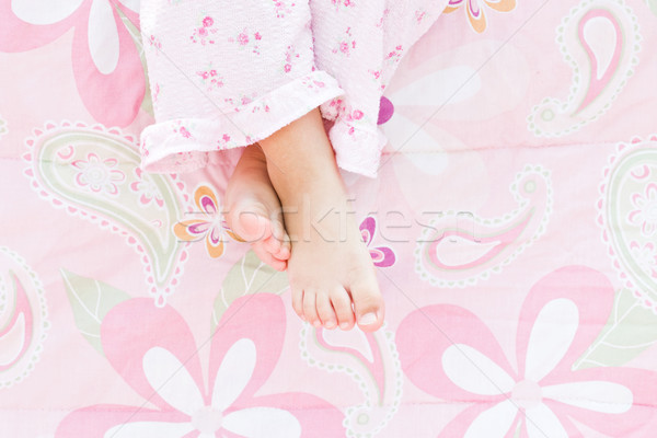 Child's Feet Stock photo © StephanieFrey