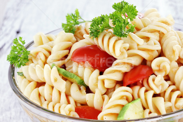 Pasta Salad Stock photo © StephanieFrey
