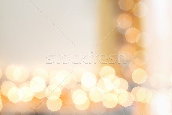 Gold Bokeh Background Stock photo © StephanieFrey