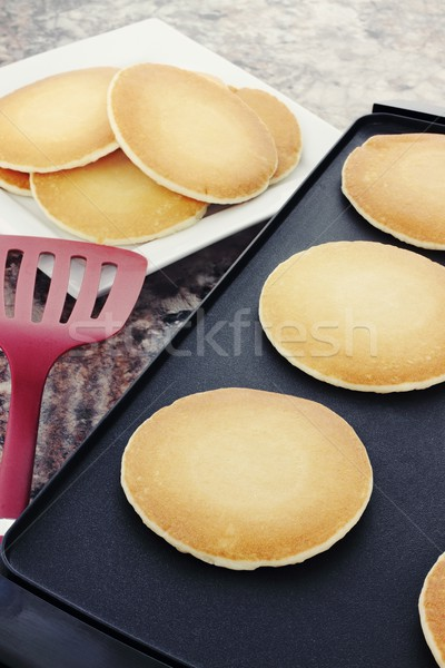 Preparing Pancakes  Stock photo © StephanieFrey
