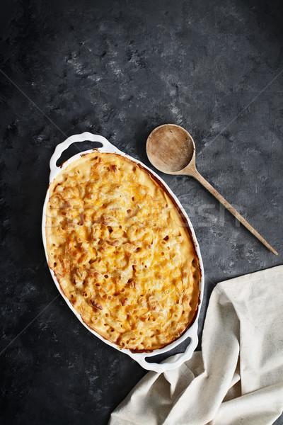 Macaroni and Cheese Stock photo © StephanieFrey