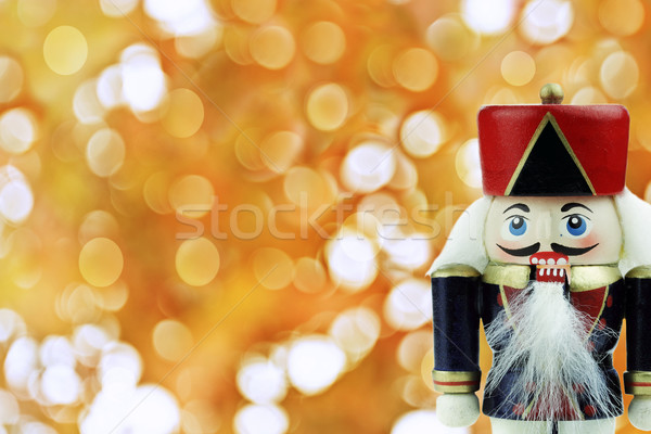 Wooden Nutcracker  Stock photo © StephanieFrey
