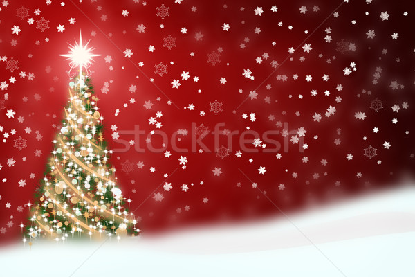 Christmas Background Stock photo © StephanieFrey