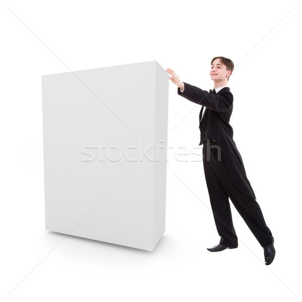 Człowiek polu sala balowa tancerz gotowy ręce Zdjęcia stock © stepstock
