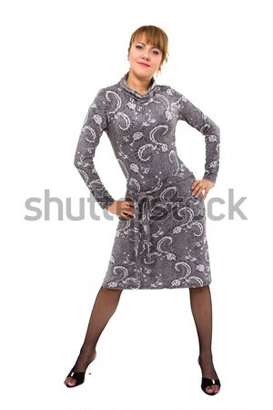 Young woman posing Stock photo © stepstock