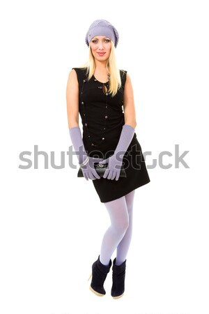 knitwear. young woman Stock photo © stepstock