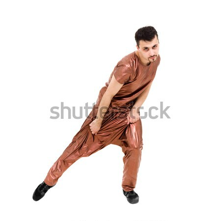 Young dancer showing some movements Stock photo © stepstock