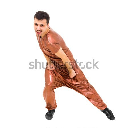 Attractive dancer showing some movements Stock photo © stepstock