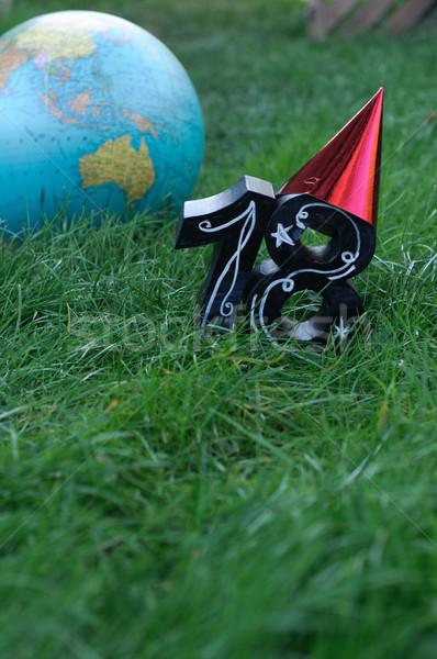 Urodziny wolności morza świat tle podpisania Zdjęcia stock © stickasa
