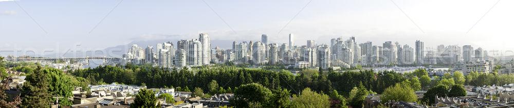 Ванкувер центра мнение ложный ручей панорамный Сток-фото © stockfrank