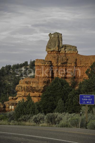 Red rocks Stock photo © stockfrank