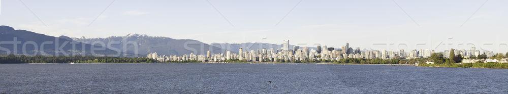мнение Ванкувер воды панорамный город парка Сток-фото © stockfrank