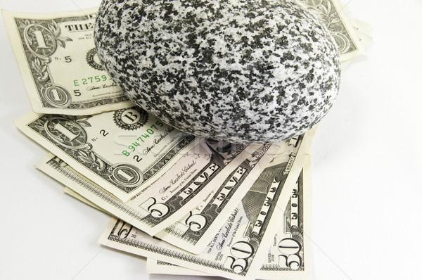 американский деньги рок долларов вниз Сток-фото © stockfrank