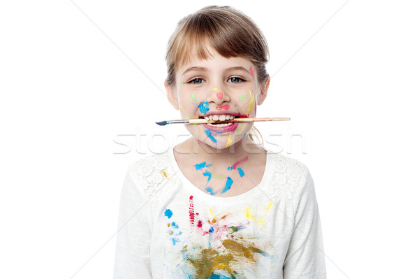 I have completed the art !  Stock photo © stockyimages