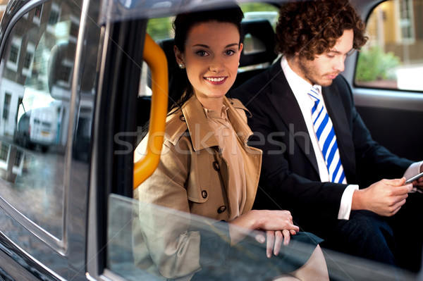 Business people on the way to attend meeting Stock photo © stockyimages