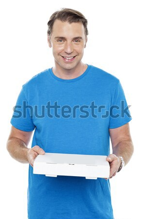 Excited cool young chap Stock photo © stockyimages