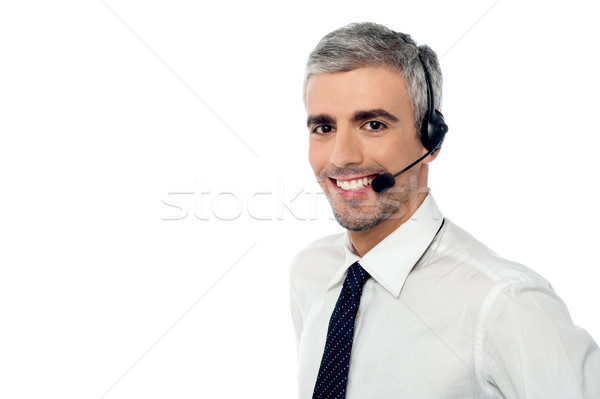 How can i help you? Stock photo © stockyimages