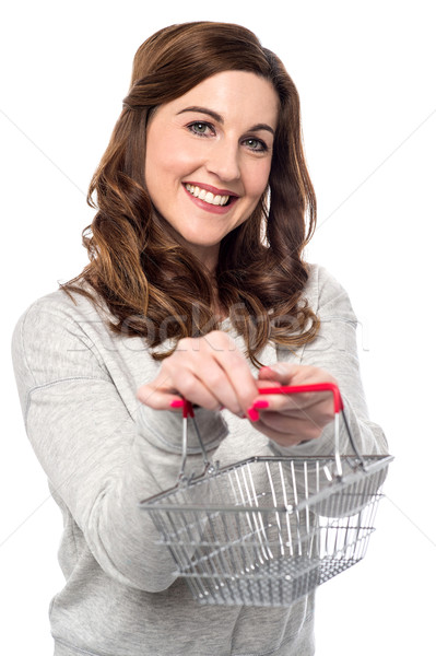 Shopping is now easy in online. Stock photo © stockyimages