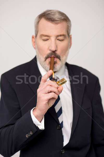 I am a occasional smoker. Stock photo © stockyimages