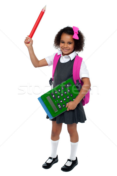 I am ready for school, are you? Stock photo © stockyimages