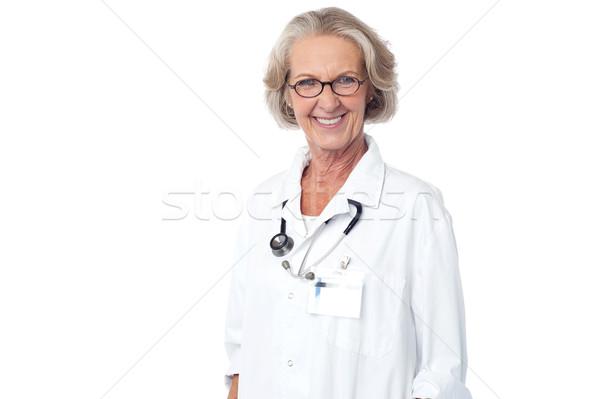Photo stock: Supérieurs · médicaux · professionnels · posant · médecin