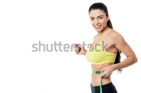 How much weight i lost ! Stock photo © stockyimages