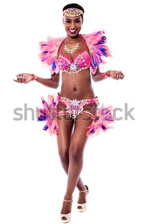 Enyém új lépés szamba derűs táncos Stock fotó © stockyimages