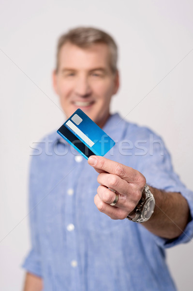 I got my new credit card ! Stock photo © stockyimages