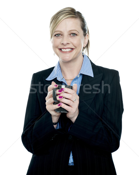 Its time for some coffee and break from work Stock photo © stockyimages