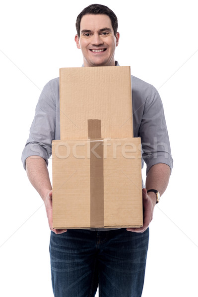 Just now got my parcels. Stock photo © stockyimages