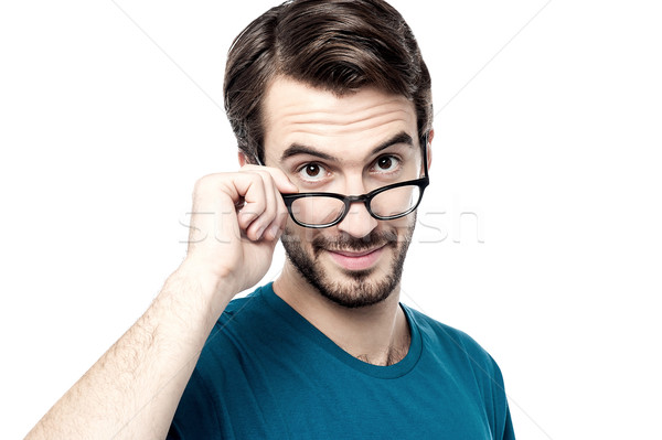 Let me take a closer look at you Stock photo © stockyimages