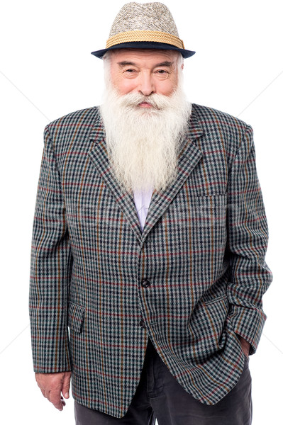 Portrait of an old man Stock photo © stockyimages